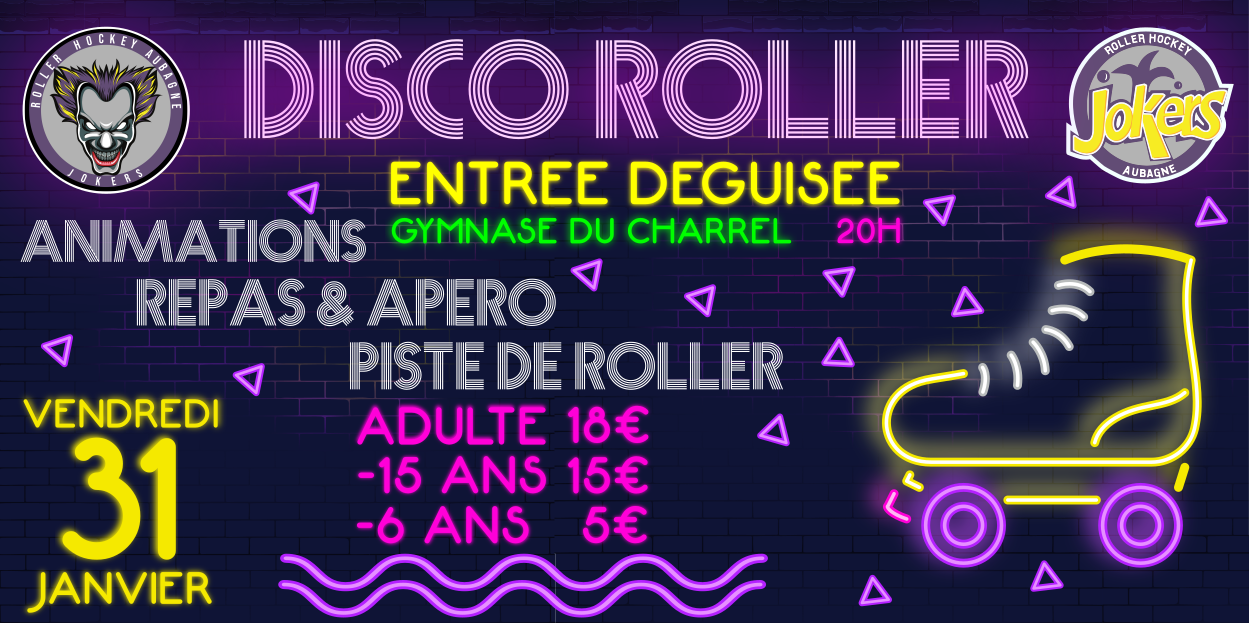 SOIREE CLUB DISCO ROLLER